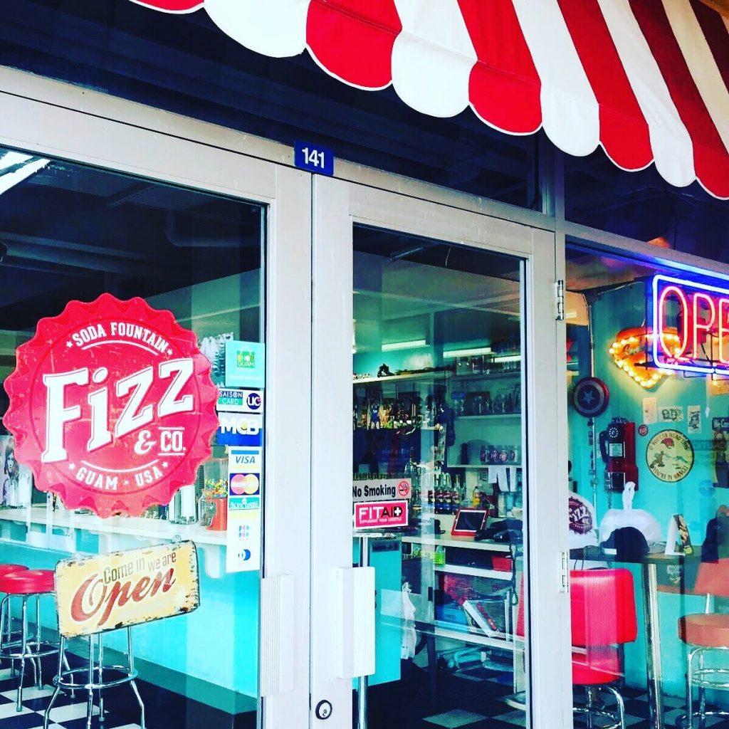 グアム FIzz&Coカフェ