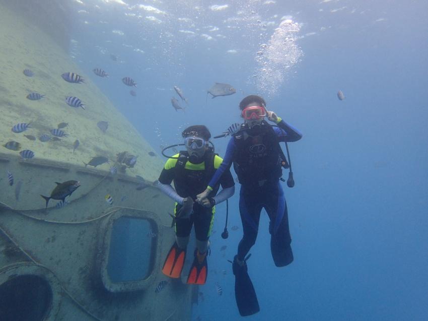 グアム 体験ダイビング