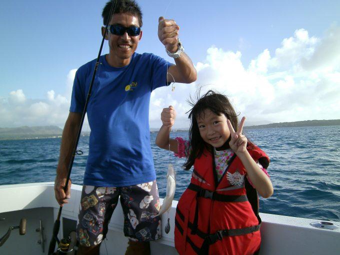 關島坐船出海釣魚! 海釣&浮潛二合一