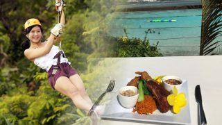 高空滑索+午餐+希爾頓水上樂園